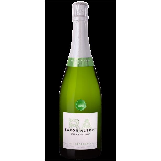 Champagne Baron Albert - La Préférence Millésime 2011 Demi-Sec