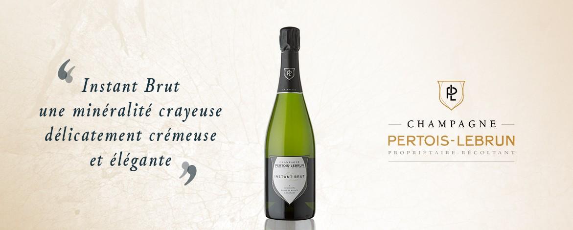 Champagne Pertois Lebrun Instant brut