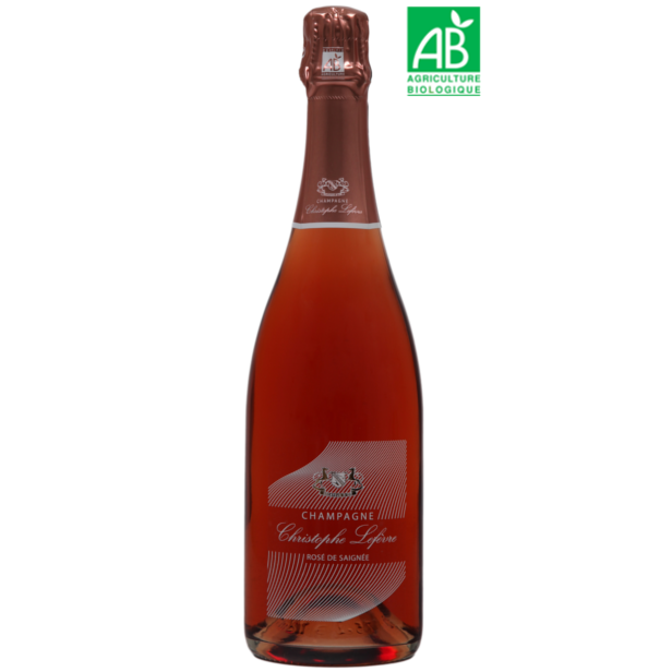 Champagne Christophe Lefèvre - Rosé de Saignée
