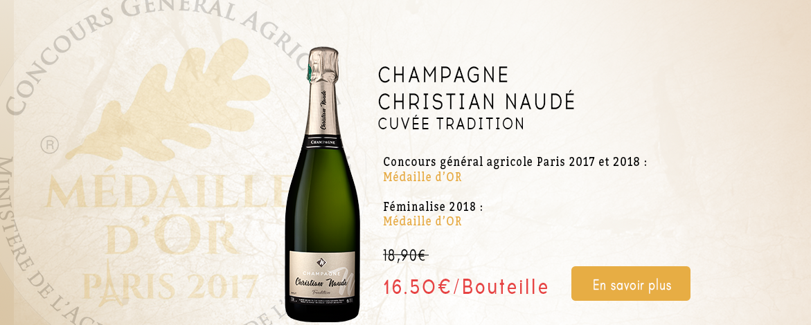 Champagne Christian Naudé Tradition